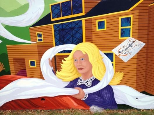 chemtrail mural